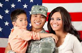 We support Veterans, Military and their Spouses.